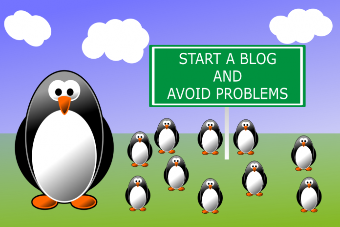 How to create your own blog and avoid problems